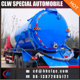Dongfeng 16m3 14m3 Abwasser-Entwässerung-LKW-Abwasser, das Becken-LKW saugt
