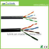 Solide du câble Cat5e/CAT6 de LAN/Network/UTP/câble de brin