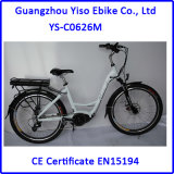 Bafangモーターに構築されるトルクセンサーを持つ女性のための不安定な駆動機構モーター都市Eバイク