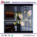 Pared transparente/del vidrio a todo color/ventana LED/cartelera/pantalla video P3.75/P5/P7.5/P10/P16/P20 de la muestra/del panel/de visualización para hacer publicidad