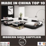 Mobília secional de couro original Lz3314 do sofá