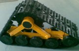 Sistema de conversión de goma de la pista del jeep 1050m m X280mm X790mm