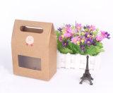 Le logarithme naturel de papier d'emballage de qualité a estampé avec la caisse d'emballage de guichet