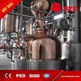 El ron de cobre del whisky de la vodka destila a destilador de destilación del equipo de la destilación