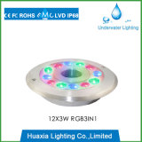 IP68 36W RGB LED 수중 샘 빛