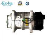 Htac-Omnibus auto del compresor del acondicionador de aire de la dislocación 135cc