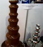 Grt-D20096 Machine de fontaine à chocolat professionnel à 4 couches pour vente