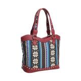 Sacos de Tote exóticos da lona de Boémia para as mulheres (MBNO042092)