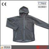 Куртка следа Softshell дешевого оптового полиэфира Mens водоустойчивая