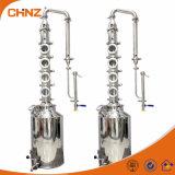 equipo de destilación casero del alcohol 50L y 100L de los alambiques de la máquina de cobre de la destilería para la venta