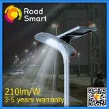 15W IP65 einteiliges Solar-LED Straßenlaternefür Garten-Straße