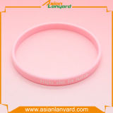 Späteste Entwurfs-Form-GummisilikonWristband