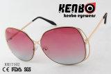 Frame dado forma borboleta com os óculos de sol os mais atrasados elegantes Km17102 do projeto da lente do oceano