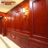 Il rivestimento murale di legno classico riveste la decorazione di pannelli (GSP9-073)