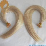 Estensione piana dei capelli di punta Remy della cheratina umana dei capelli di #22 (TT398)