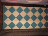 Buon decorare i comitati di parete della fibra della decorazione di qualità di effetto