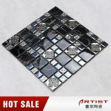 Красивейшая стеклянная плитка мозаики, кристаллический конструкция мозаики для конструкции кухни