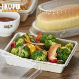 Контейнер шара салата ясной устранимой еды пластичный с крышкой