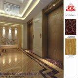 Piedra de mármol de alta calidad esmaltada azulejos de piso de porcelana pulida (VRP69M004)