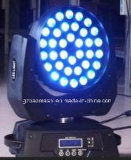 luz principal movente do diodo emissor de luz de 36PCS 10W RGBW com zoom