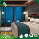 Роскошный комплект спальни мебели гостиницы в коже (ZSTF-09)
