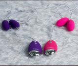 El doble Eggs el juguete adulto de la vibración del Masturbation para las señoras