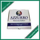 Коробка гофрированной бумага коробки пиццы e каннелюру лоснистая