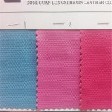 Anti Slip Hexagon PU Leather for Cases Package Hw-1193