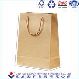 Мешки бумажных мешков Brown Kraft хозяйственных сумок фабрики сразу бумажные