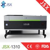 Grabador de trabajo estable del corte del laser del CNC del diseño de Jsx-1310 Alemania para la tela de cuero de acrílico