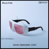 Ce En207 di raduno/occhiali di protezione di sicurezza laser del diodo e del Alexandrite con l'obiettivo viola di colore