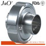 União sanitária de Rjt dos encaixes de tubulação do encaixe de câmara de ar do aço inoxidável