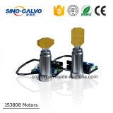 Testa professionale ad alta velocità di Galvo Js3808 per la strumentazione di taglio del laser