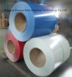 El color prepintado de Aluzinc cubierto galvanizó la bobina de acero con el color de Ral