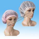 Protección para el cabello desechable Single / Double Elastic Clip Cap