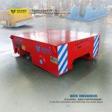 Caminhão de transporte elétrico de caixa ferroviária de aço com 5t de carga