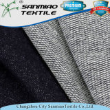 Non tessuto francese 100% del denim lavorato a maglia Terry del cotone di stirata