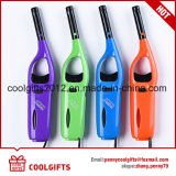 ABS наполняют газом Refillable лихтер свечки Lighter/BBQ/лихтер кухни