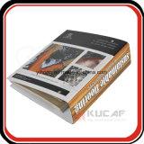 Raccoglitore di anello su ordinazione del cartone di stampa A4 con l'indice analitico & il divisore