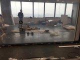 Amortiguación del vidrio, vidrio elegante del gradiente, vidrio cambiable elegante para la porción de la oficina
