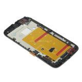 Телефон LCD для Motorola Moto G2 Xt1063 Xt1068 LCD и экран касания с рамкой