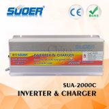 Inversor modificado 2000W da potência de onda do seno da C.C. 12V de Suoer com carregador (SUA-2000C)