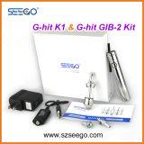 Fashion G-Hit Hookah Cigarette électronique de Seego, bouchon électronique de cigarette