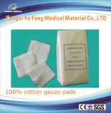 100% algodón algodón esponjas algodón almohadillas de gasa