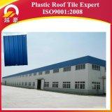 Tuile de toiture en plastique d'empêchement de corrosion de PVC avec l'onde élevée
