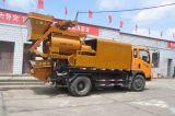Qjhbt50b Diesel- u. elektrische doppelte Welle erzwang beweglicher LKW eingehangenen Betonmischer mit Pumpe