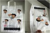 機械を作るガセット袋はまたは十分にAuotamaticプラスチック最下の溶接柔らかいループハンドルのショッピング機械を作る袋を運ぶ