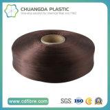 100% Fils de fil de polypropylène teintés au textile FDY en Chine