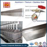 Junções elétricas da transição para a fundição de alumínio com tecnologia explosiva da ligação