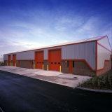Двери гаража обеспеченностью подъема панели новой конструкции надземные изолированные секционные